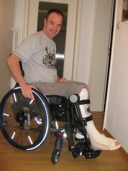 bein orthesen nach lähmung