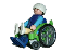 Rollstuhl-Handschuhe